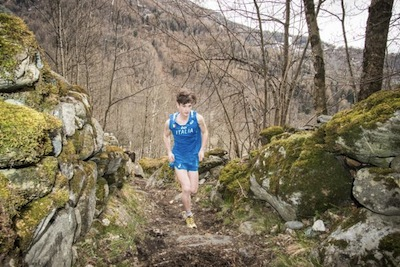 International Youth Cup Under 18 Mountain Running. A LANZADA