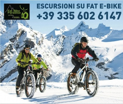 SONDALO: con Fat Bike Paradise in VAL DI REZZALO